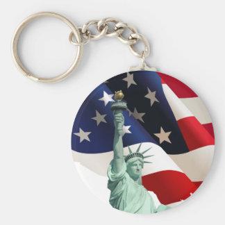 Statue of Liberty Key Ring