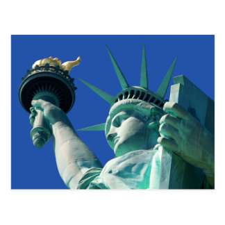 Statue Of Liberty Landmark Vacation Postcards