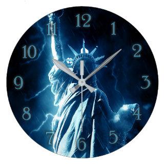 Statue of Liberty Large wall clock