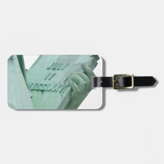 Statue-of-Liberty Luggage Tag