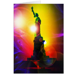 Statue of Liberty New York Card