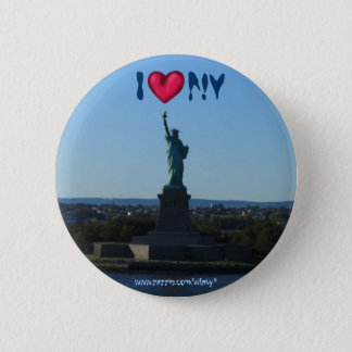 Statue of Liberty New York City photography button