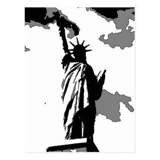 Statue of Liberty New York City Postcard