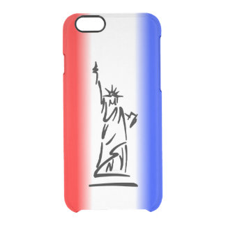 Statue of Liberty New York Clear iPhone 6/6S Case
