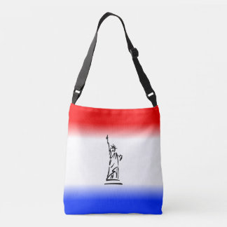 Statue of Liberty New York Crossbody Bag
