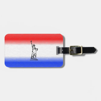 Statue of Liberty New York Luggage Tag