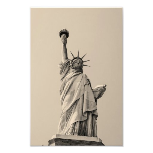 Statue of liberty, New York Photograph