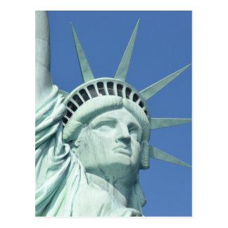 Statue of Liberty - New York - Postcard