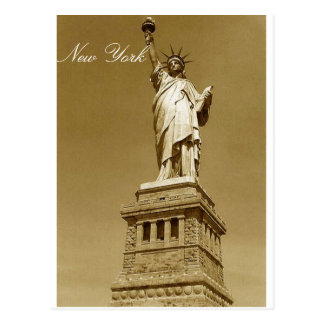 Statue of Liberty, New York Postcard