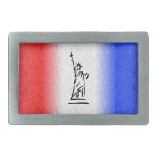 Statue of Liberty New York Rectangular Belt Buckles
