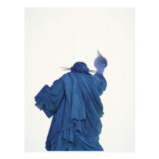 Statue of Liberty, New York, USA RF) Postcard