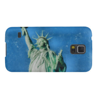 Statue of liberty, New York watercolors painting Galaxy S5 Cases