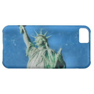 Statue of liberty, New York watercolors painting iPhone 5C Case