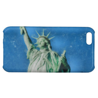 Statue of liberty, New York watercolors painting iPhone 5C Covers