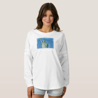 Statue of liberty, New York watercolors painting Spirit Jersey