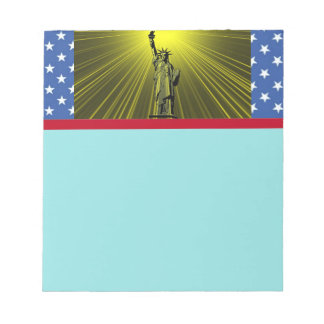 Statue of Liberty Notepad