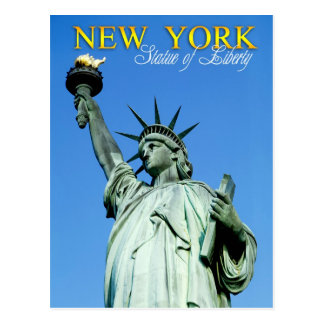 Statue of Liberty, NYC Postcard