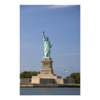 Statue of Liberty on Liberty Island in New Photo Art