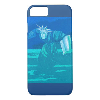 Statue of Liberty Patriotic Inspiring iPhone7 Case
