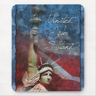 Statue of Liberty Patriotic Mouse Pad Design