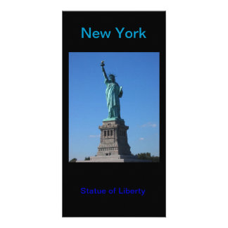 Statue of Liberty photocard Photo Greeting Card