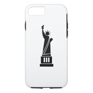 Statue of Liberty Pictogram iPhone 7 Case