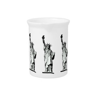Statue of Liberty Pitcher