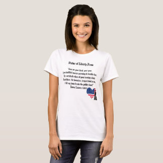 Statue of Liberty Poem T-Shirt