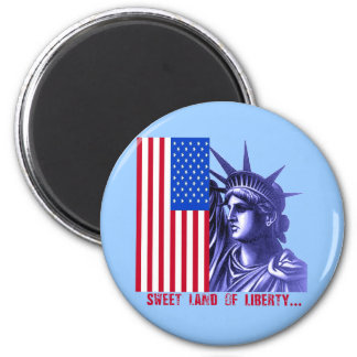 Statue of Liberty Products 6 Cm Round Magnet