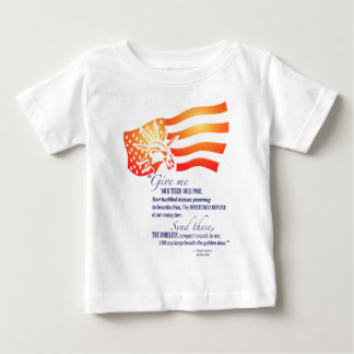 Statue of Liberty Quote Baby T-Shirt