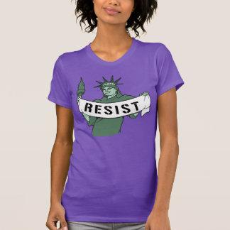 Statue of Liberty Resist --- No Muslim Ban - T-Shirt