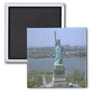 Statue of Liberty Square Magnet