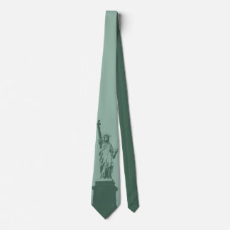 Statue of Liberty Tie NY City Souvenir Necktie