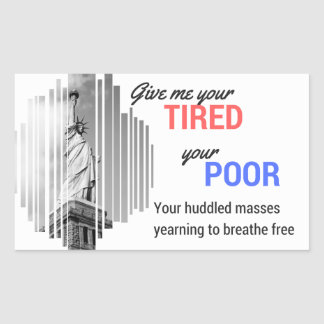 Statue of Liberty Welcome Sticker