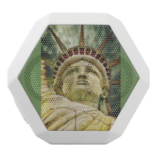statue of liberty white bluetooth speaker