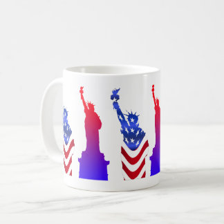 Statue of Liberty White Coffee Mug