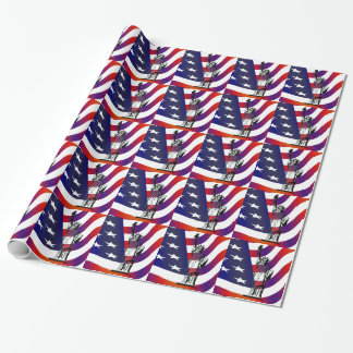 Statue of Liberty Wrapping Paper