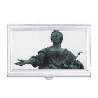 Statue Of Maria Theresia Business Card Holders