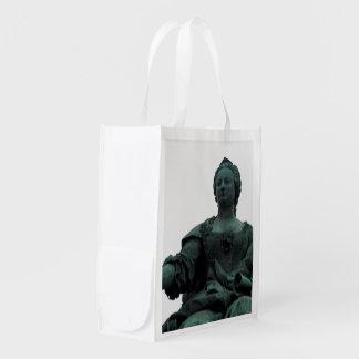 Statue Of Maria Theresia Reusable Grocery Bag
