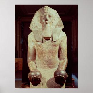 Statue of Queen Makare Hatshepsut Poster
