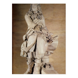 Statue of Sebastien Le Prestre de Vauban  1785 Postcard