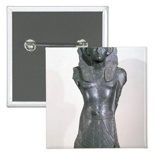 Statue of Sesostris III  in middle age Button