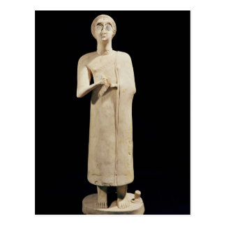 Statue of the Great Goddess, from Tell Asmar Postcard