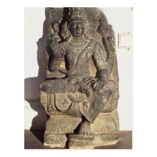 Statue of the Hindu God Brahma Postcard