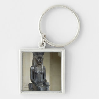 Statue of the lion-headed goddess Sekhmet, from th Key Ring