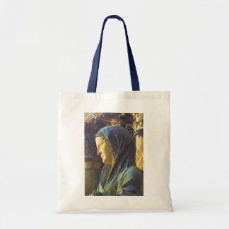 Statue of the Virgin Mary Budget Tote Bag