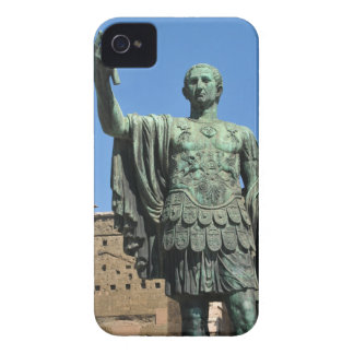 Statue of Trajan in Rome, Italy iPhone 4 Cases