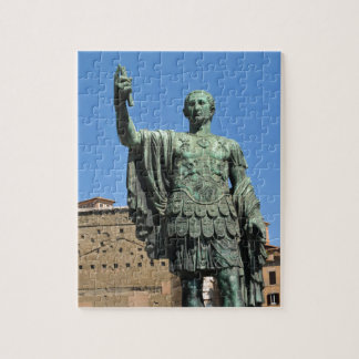 Statue of Trajan in Rome, Italy Jigsaw Puzzle
