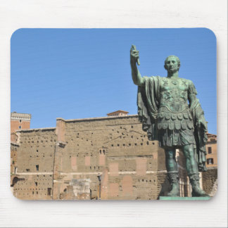Statue of Trajan in Rome, Italy Mouse Pad
