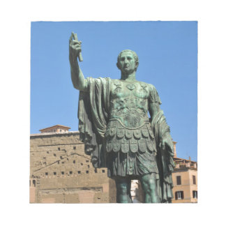 Statue of Trajan in Rome, Italy Notepad